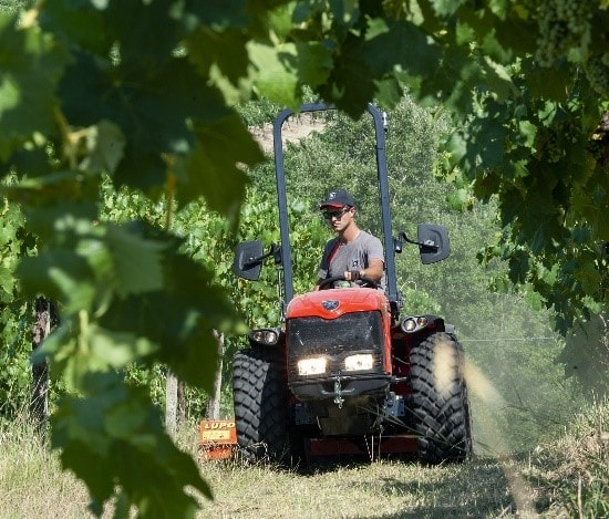 Bağ bahçe traktörü görseli