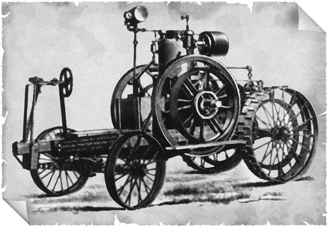 Waterloo Gasoline Engine Company tarafından üretilen ilk traktör