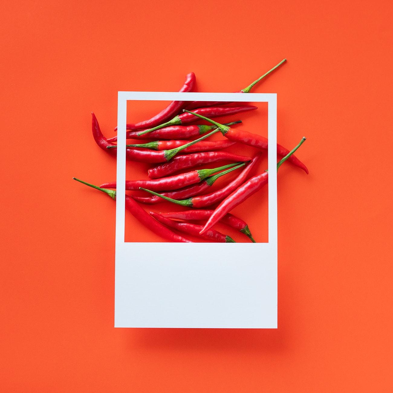 Kırmızı salkım biber