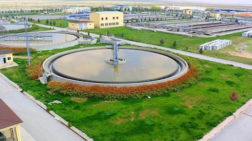 Konya'daki arıtma çamurlarının gübreye dönüştürüldüğü tesis