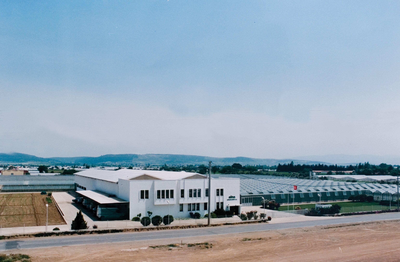 Altın tohumculuk Menderes'deki ıslah tesisleri