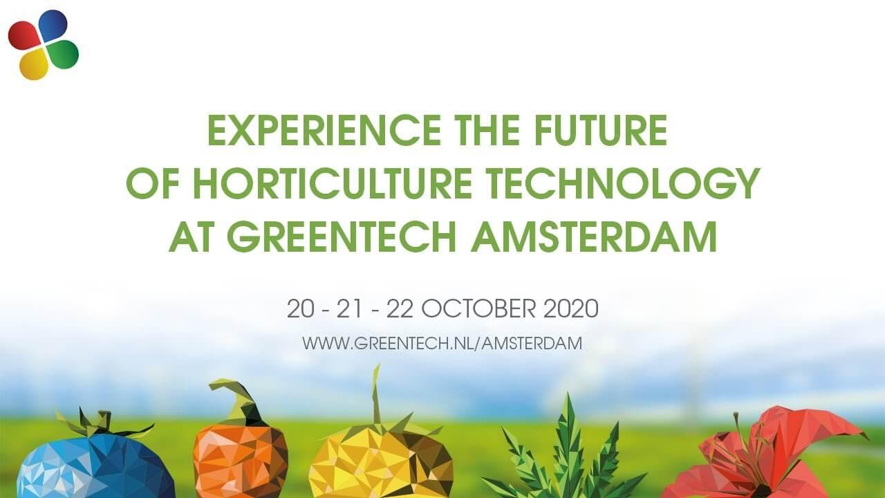 """Greentech Amsterdam, sanal ortamda organize edeceği """"GreenTechLive&Online"""" nı Ekim ayında dünya tarım sektörüyle buluşturmaya hazırlanıyor."""