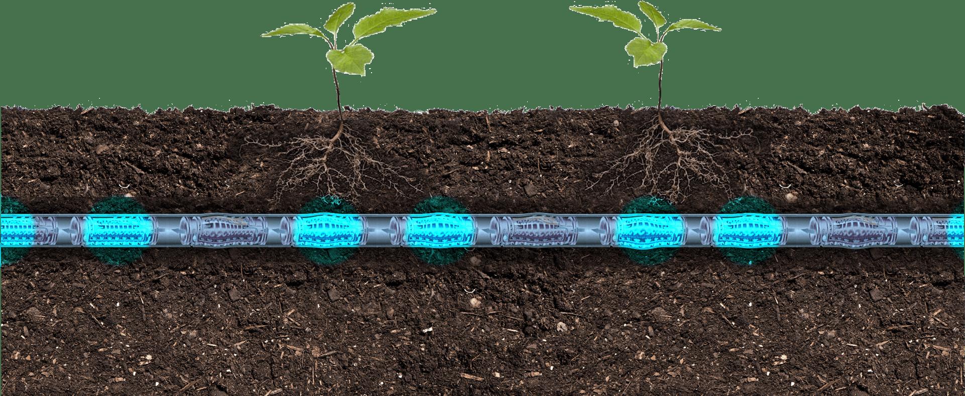 Toprak altı damla sulama sistemi