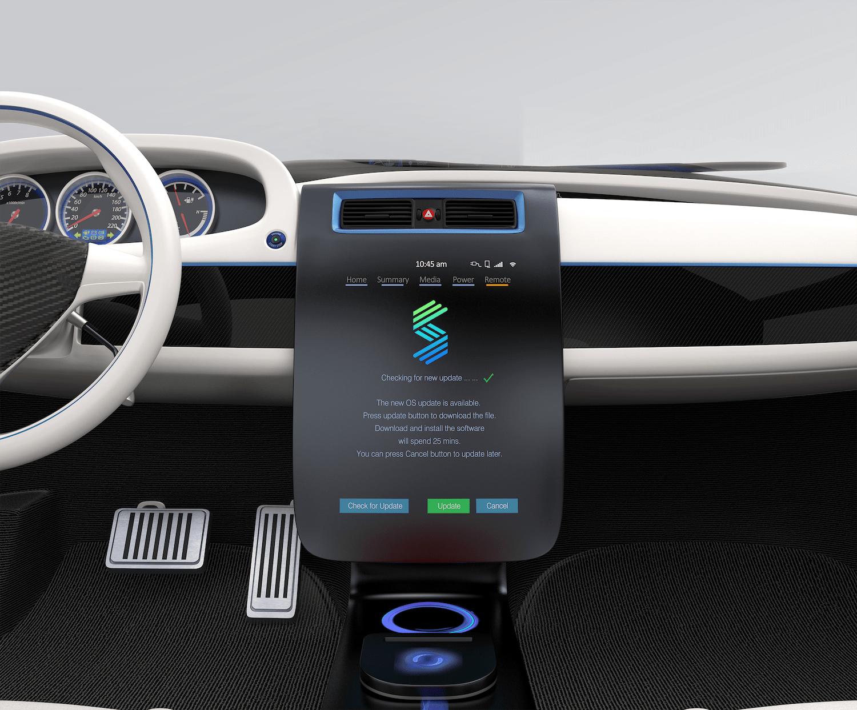 Sibros Car Dashboard