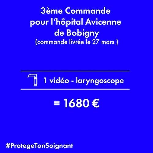 vidéo - laryngoscope pour l'hôpital Avicenne de Bobigny