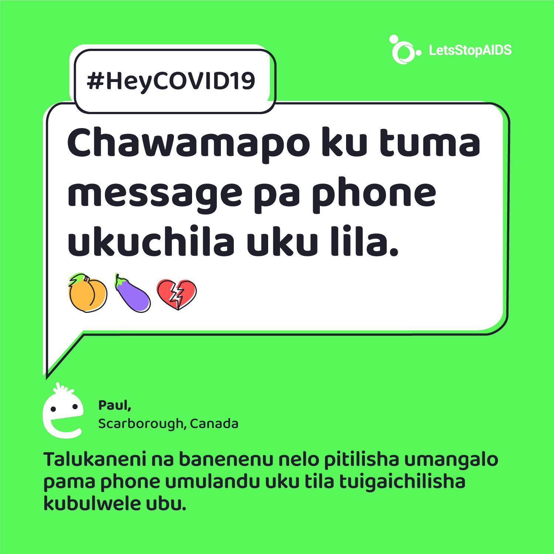 Chawamapo ku tuma message pa phone ukuchila uku lila.