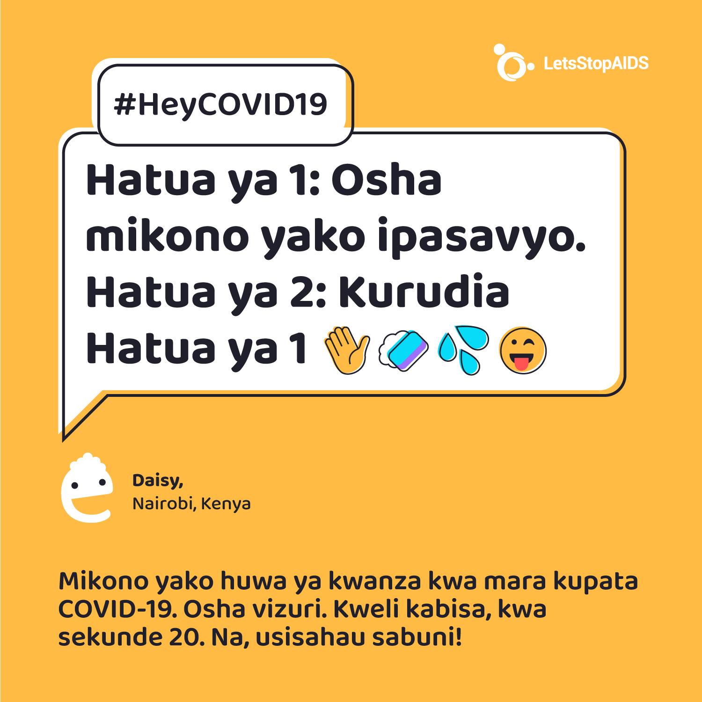 Hatua ya 1: Osha mikono yako ipasavyo. Hatua ya 2: Kurudia Hatua ya 1 😜