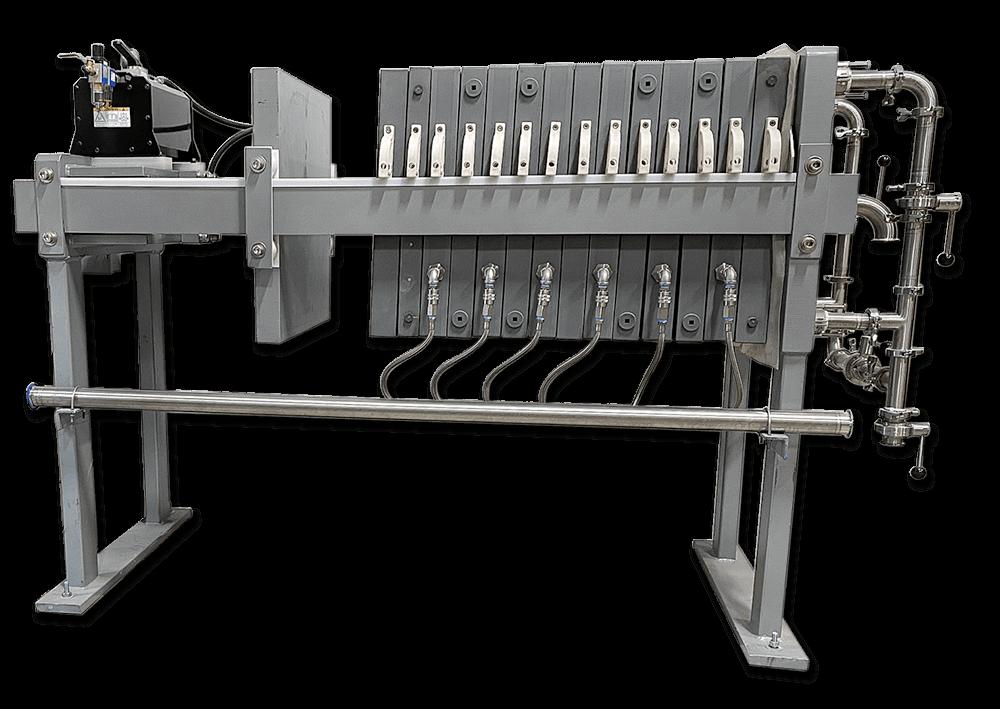 Mash filter press