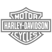 Black and white Harley-Davidson logo