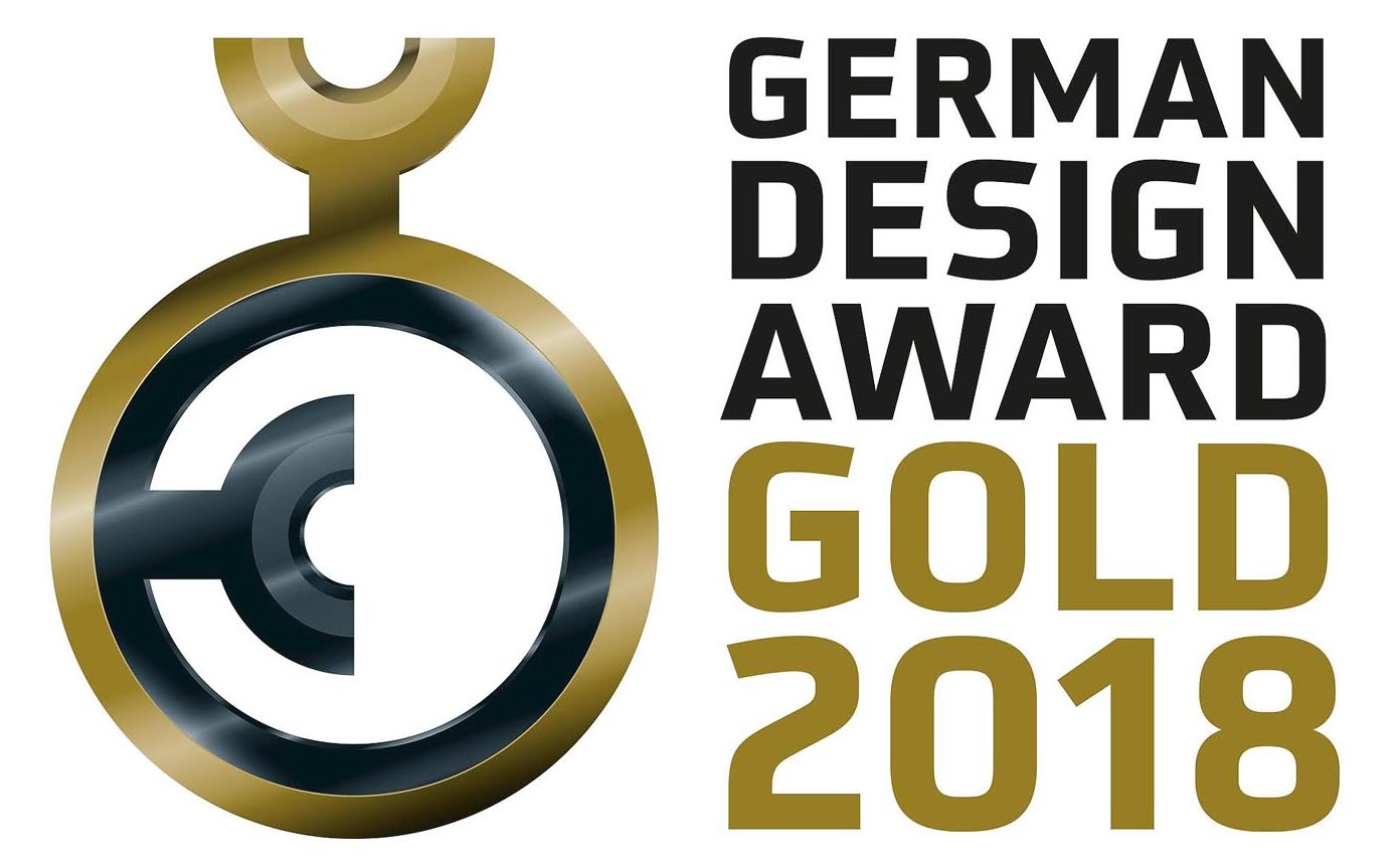 German Design Award Gold 2018 Logo