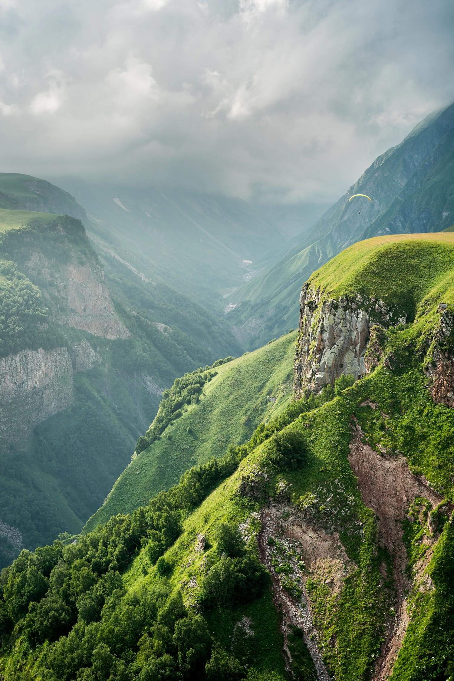 Beautiful nature scenery of Sweden