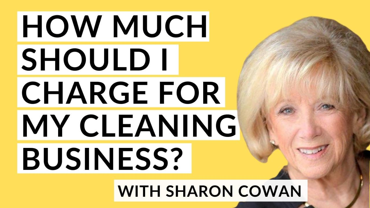 Sharon Cowan pricing my maid service