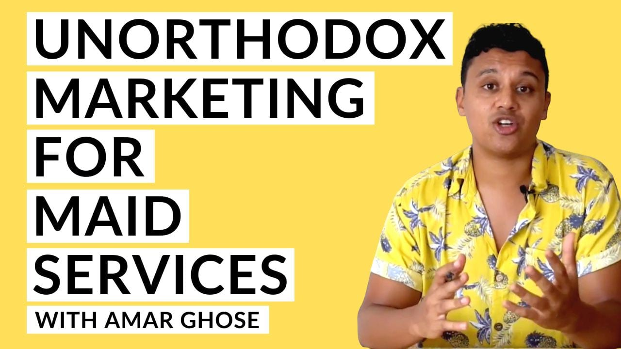 Amar Ghose Marketing for your Maid Service