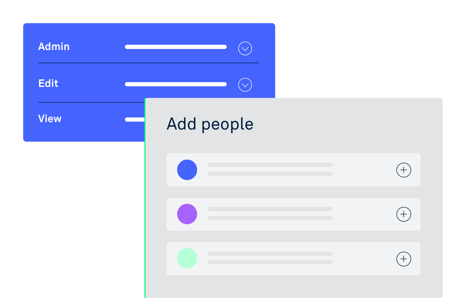 Adding new people into a timeline in Clarify