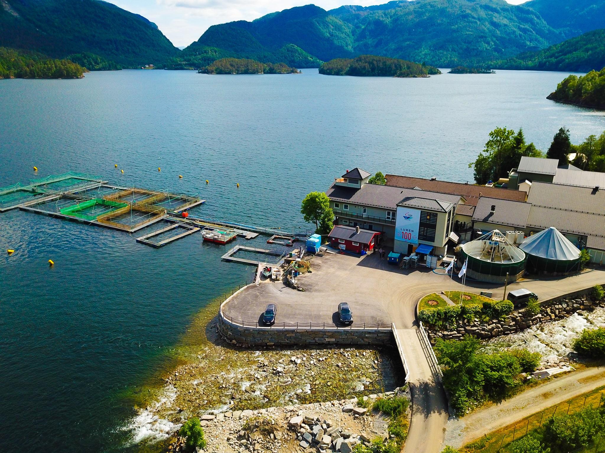 Eide Fjordbruk location overview.