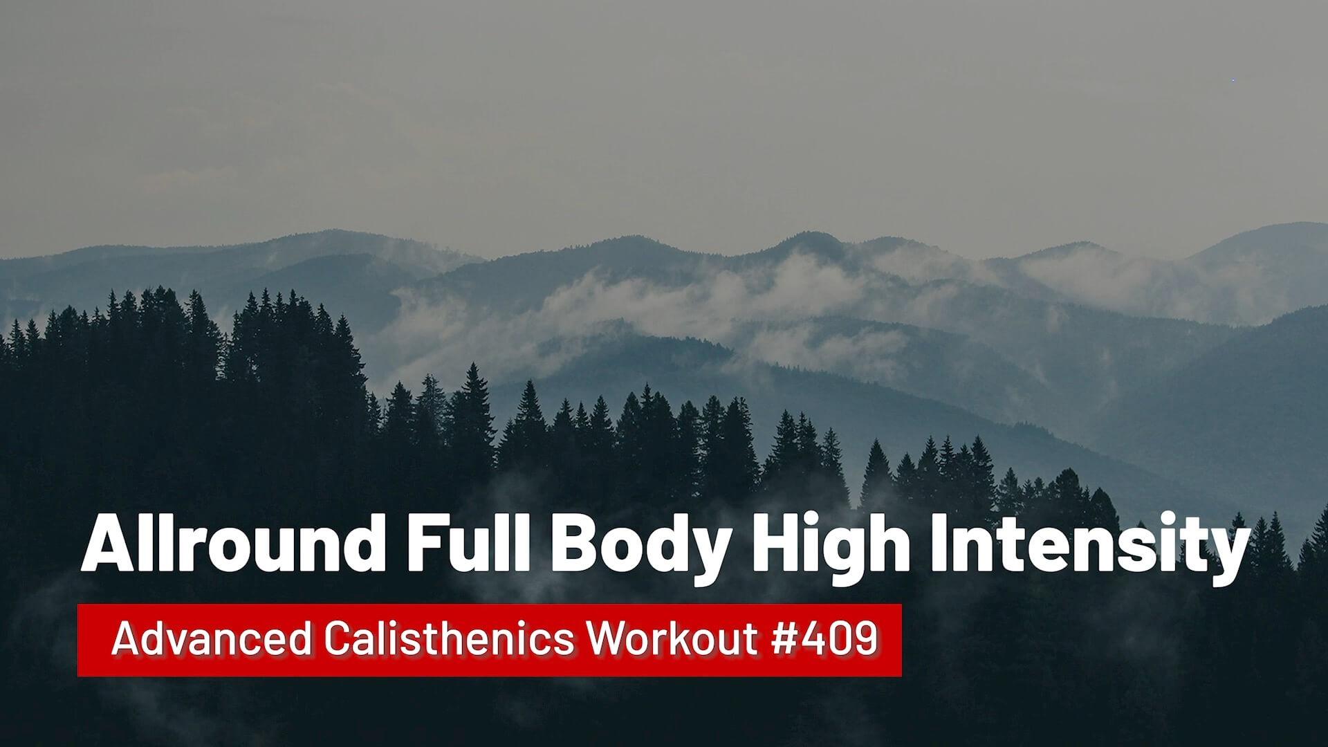 Workout #409