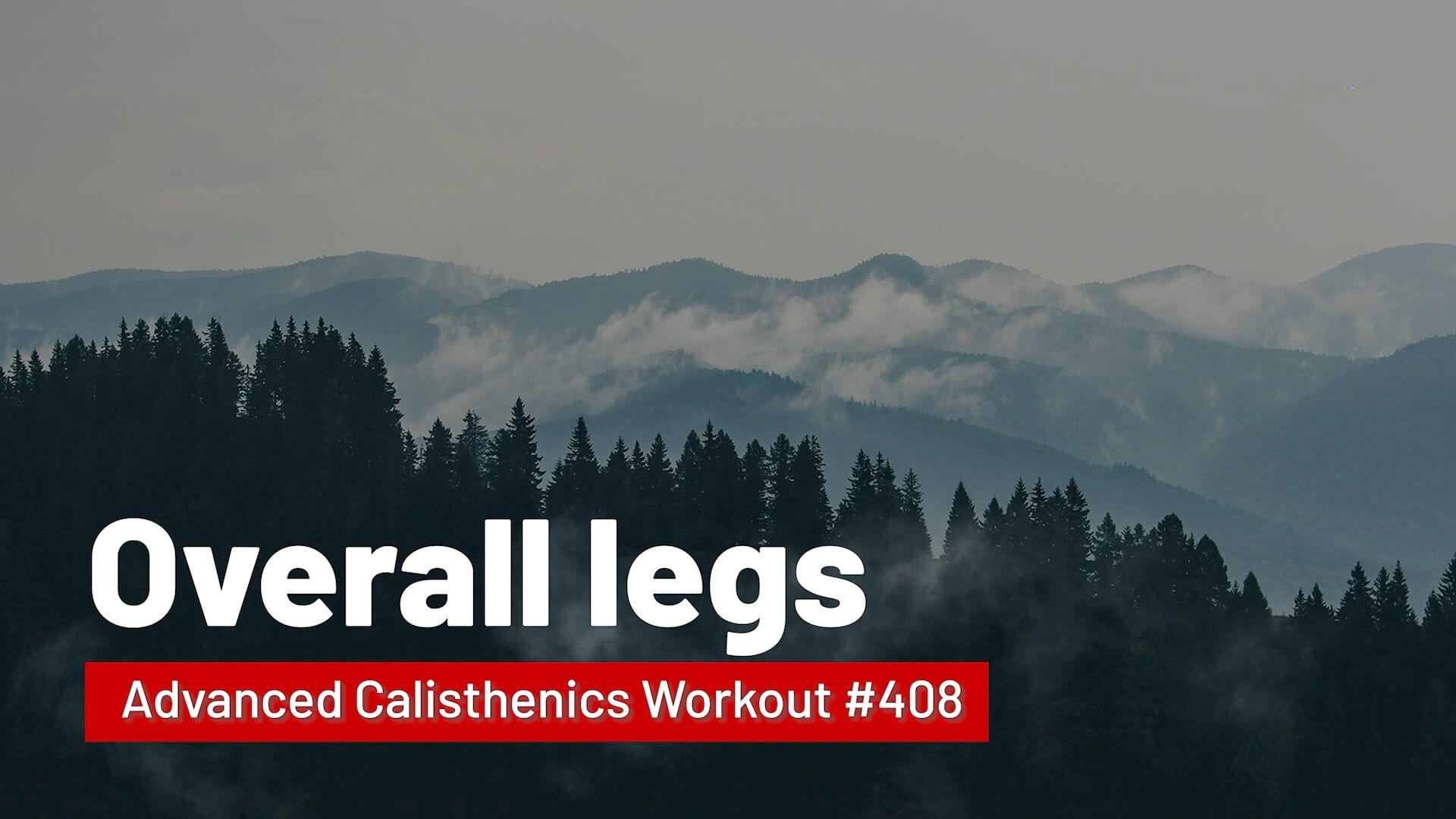 Workout #408