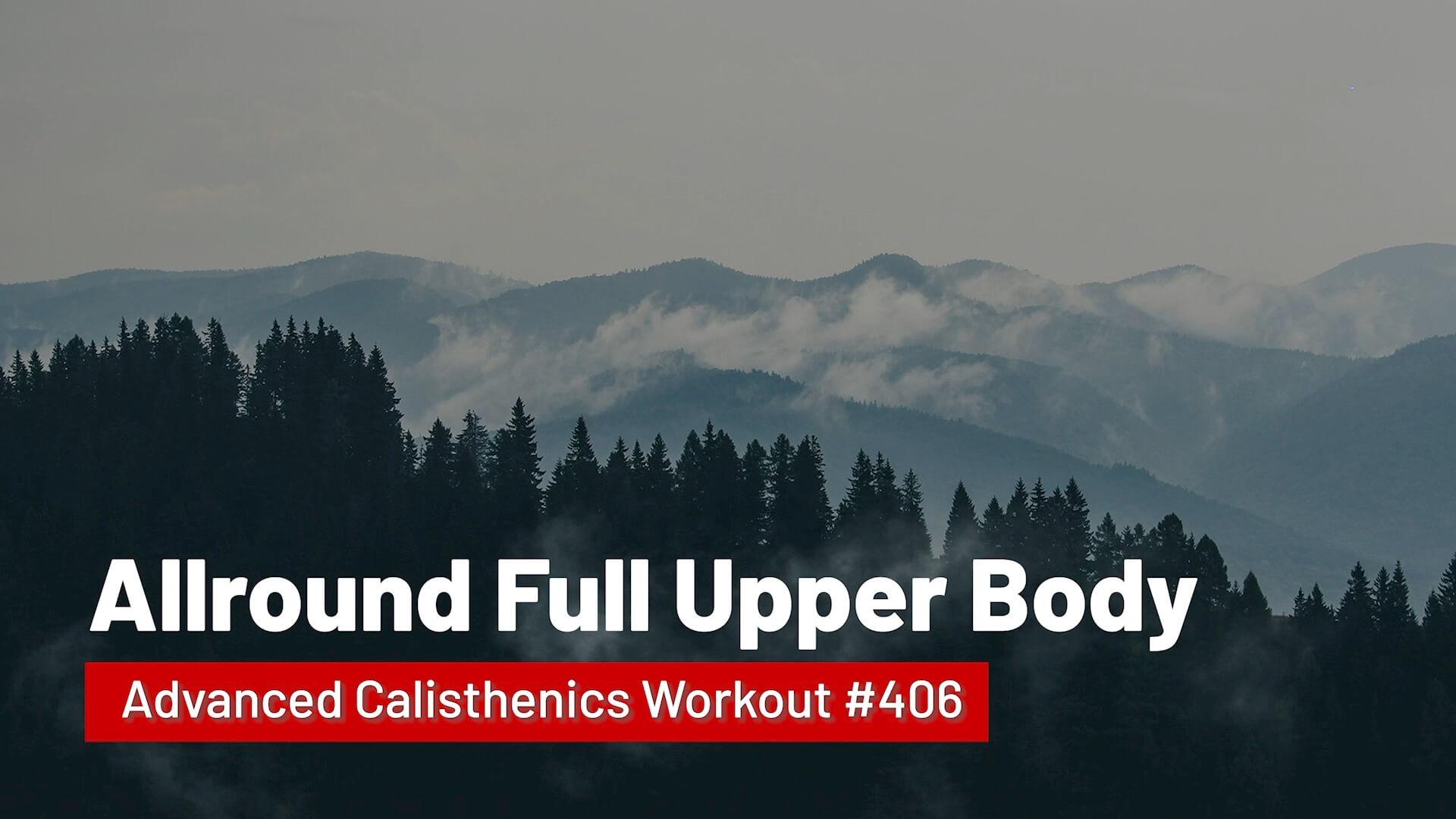 Workout #406