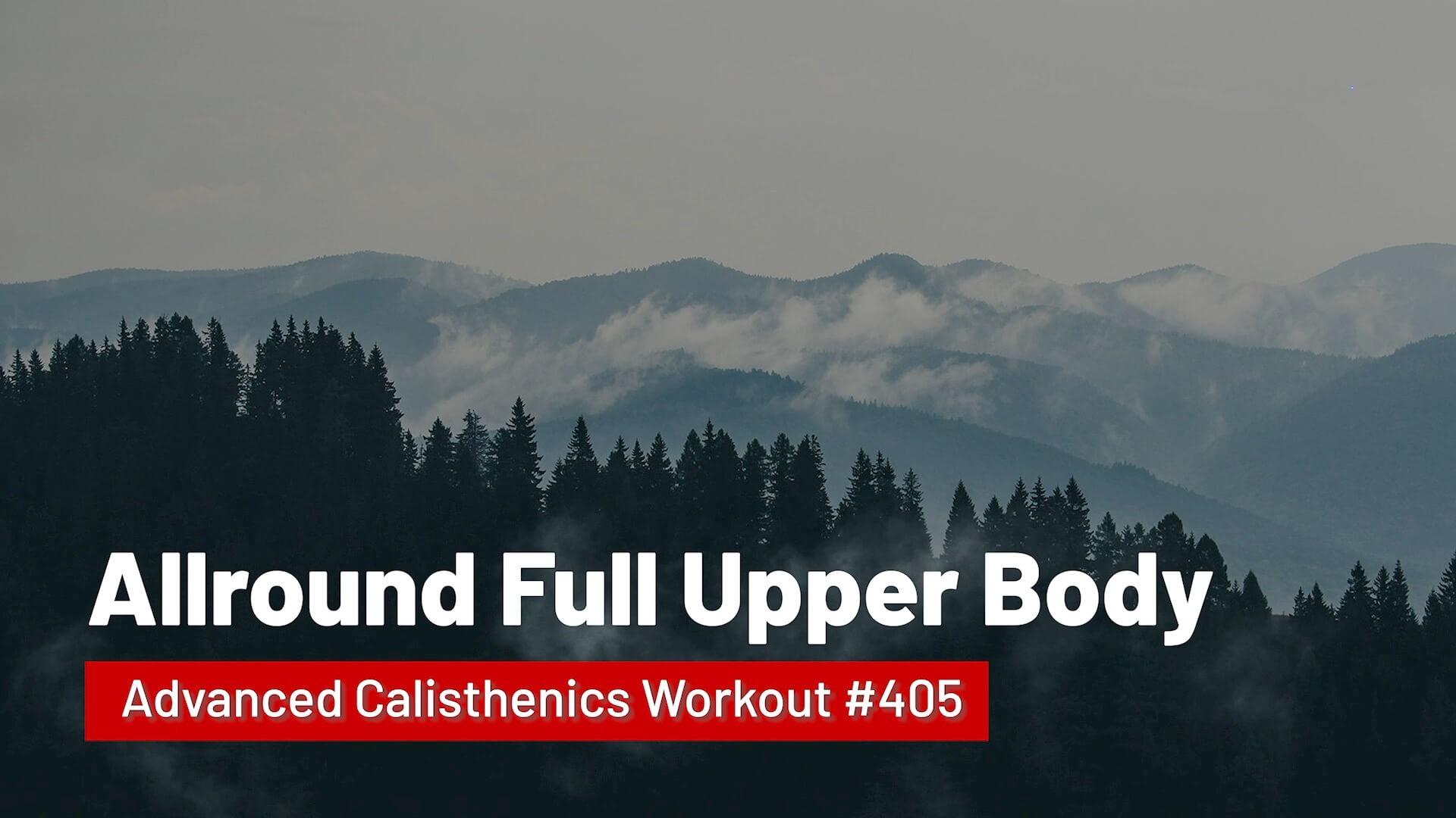 Workout #405