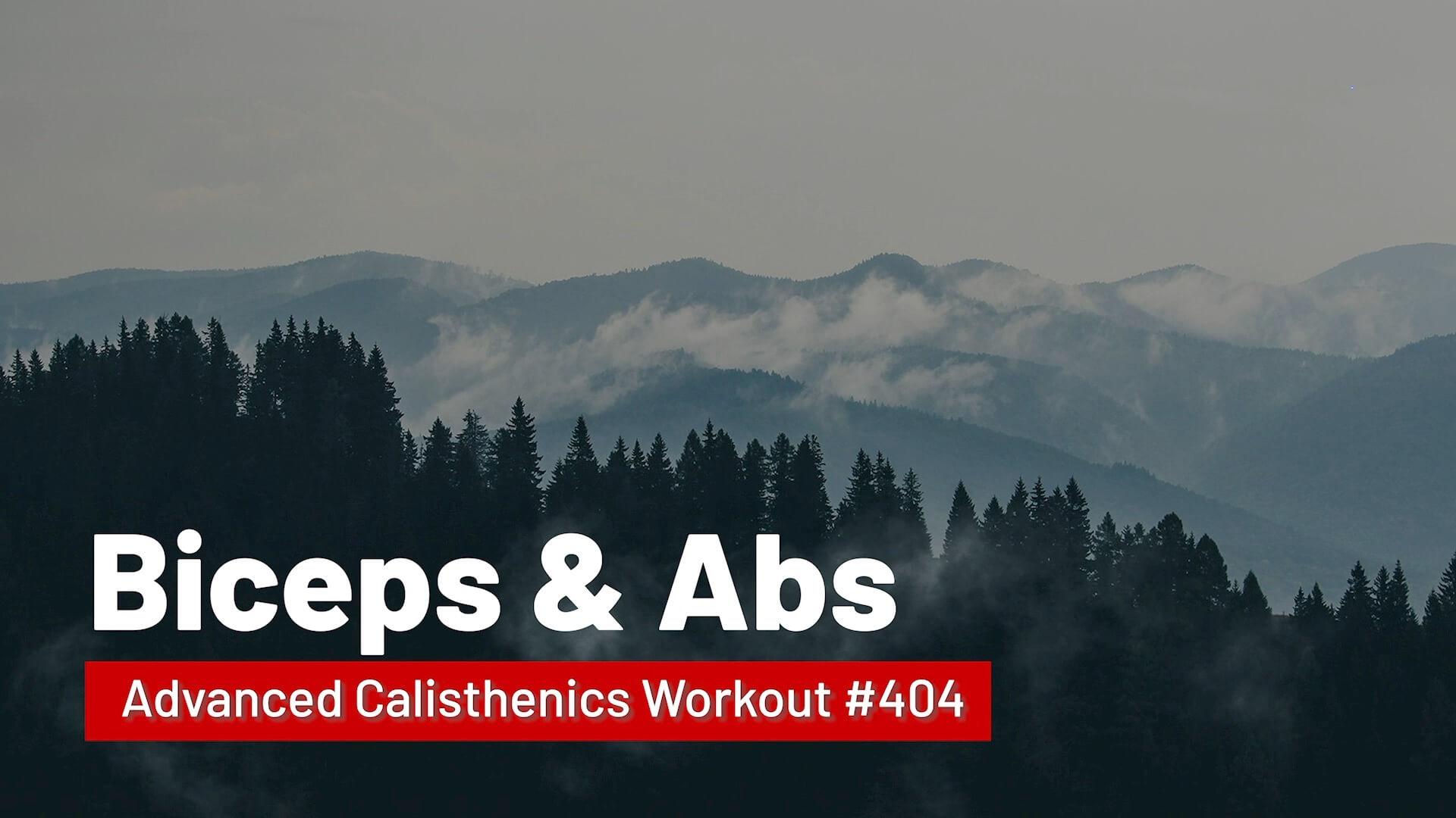 Workout #404