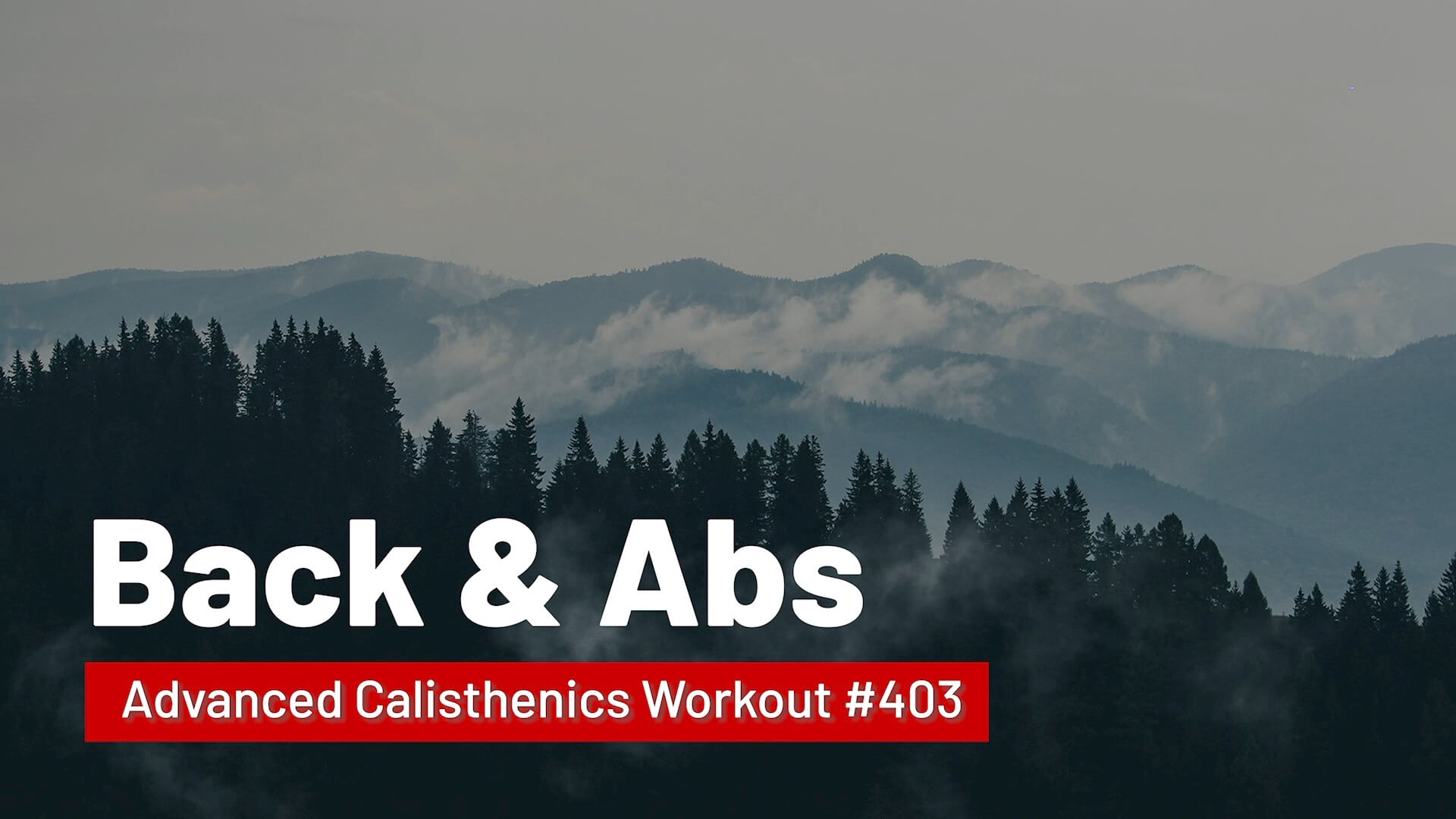 Workout #403
