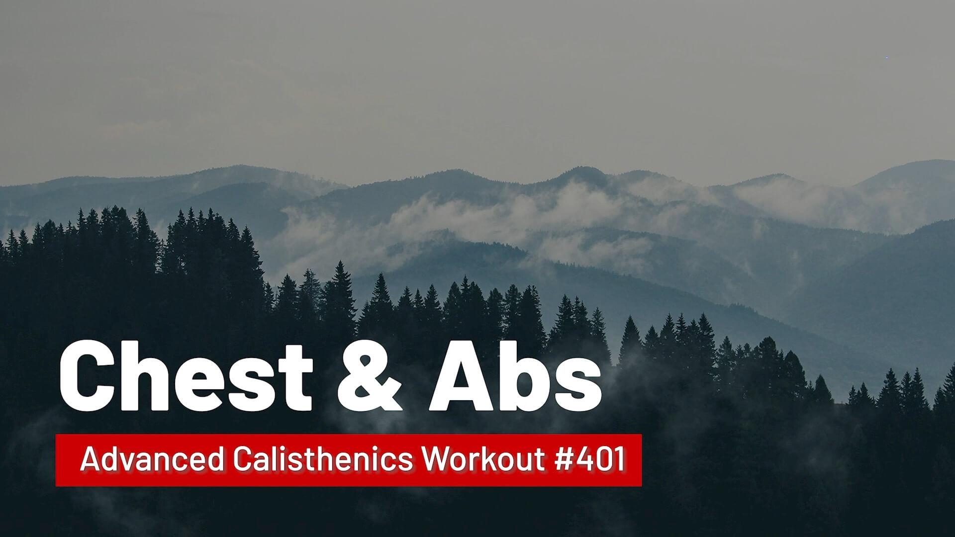 Workout #401