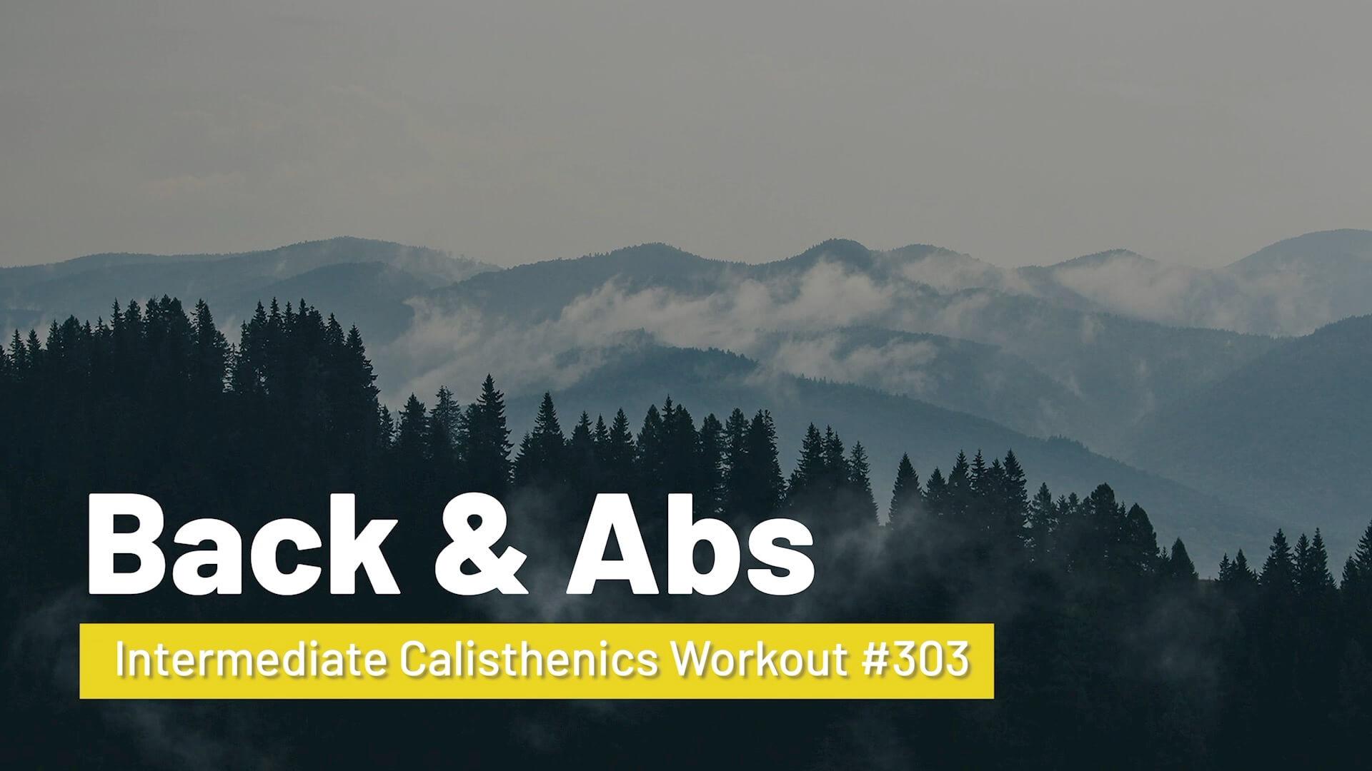 Workout #303