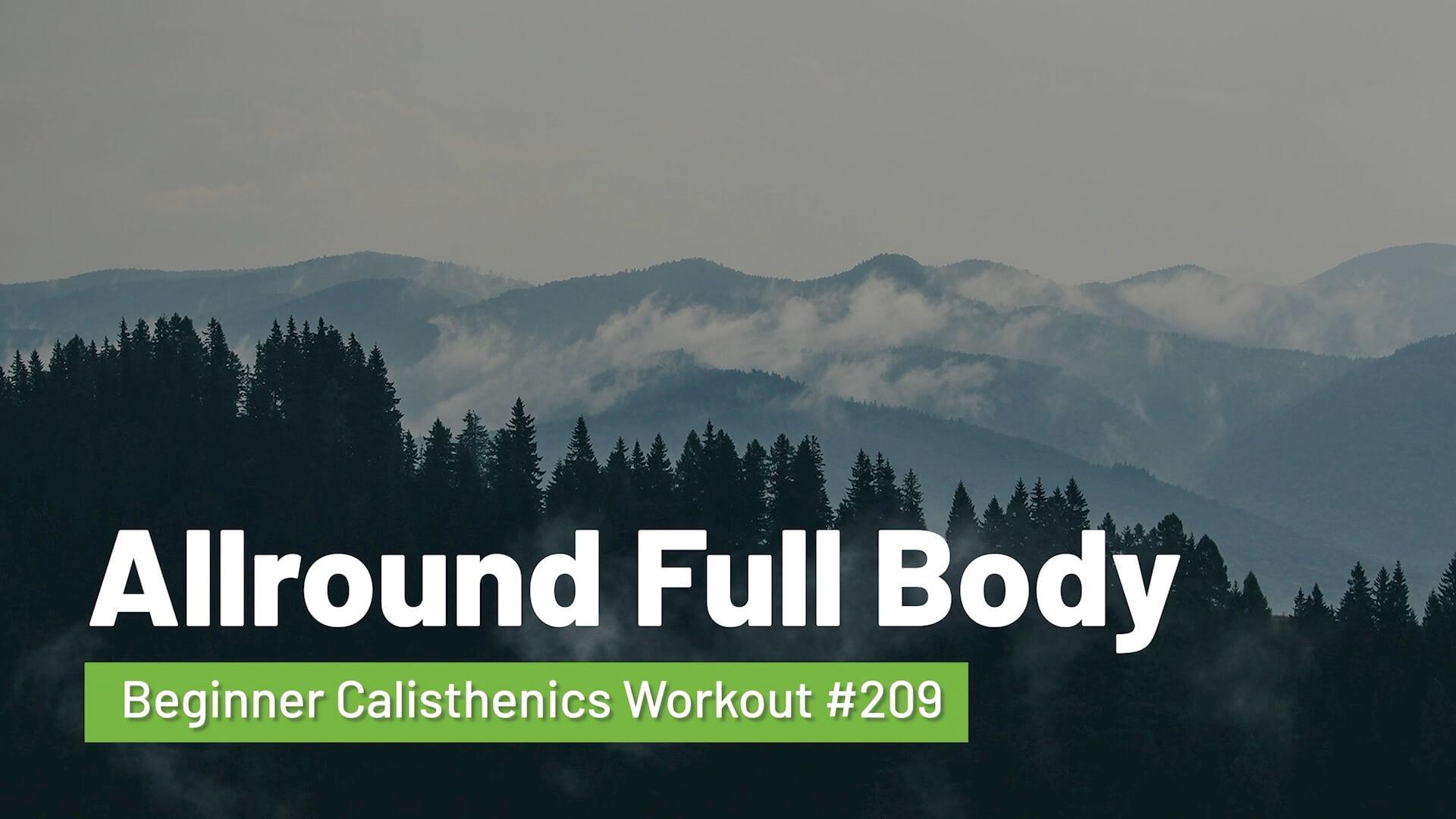 Workout #209