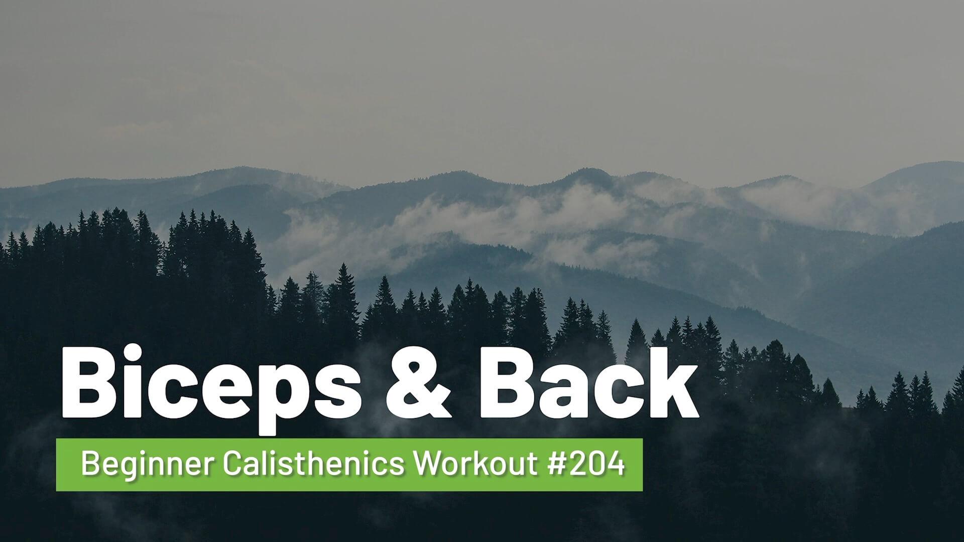 Workout #204
