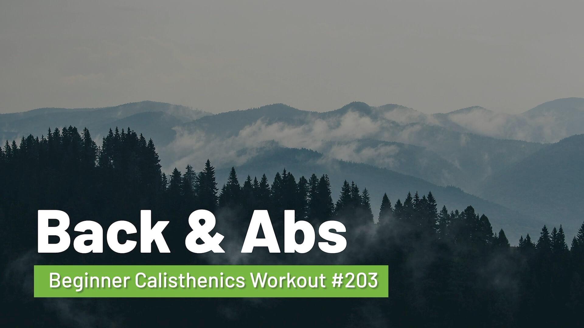 Workout #203