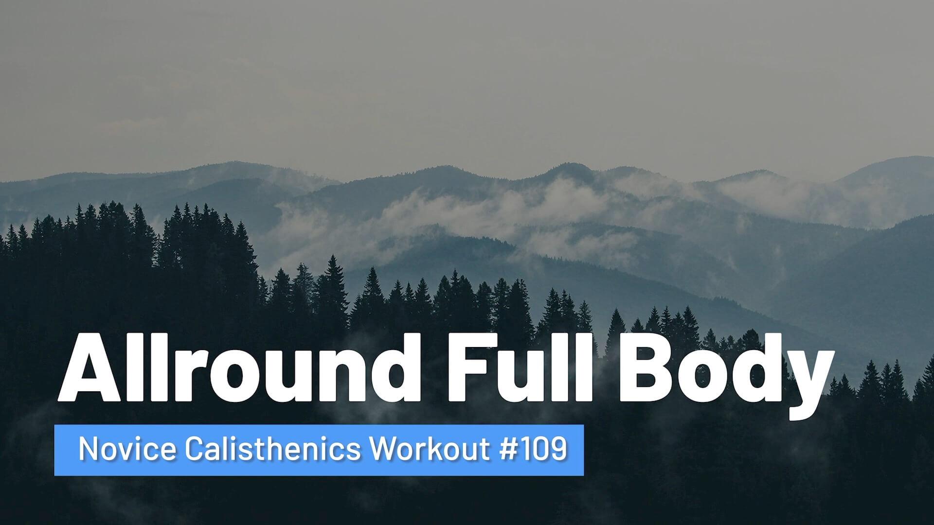 Workout #109