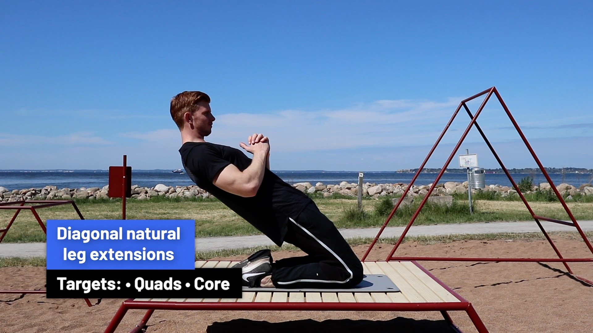 Diagonal natural leg extensions