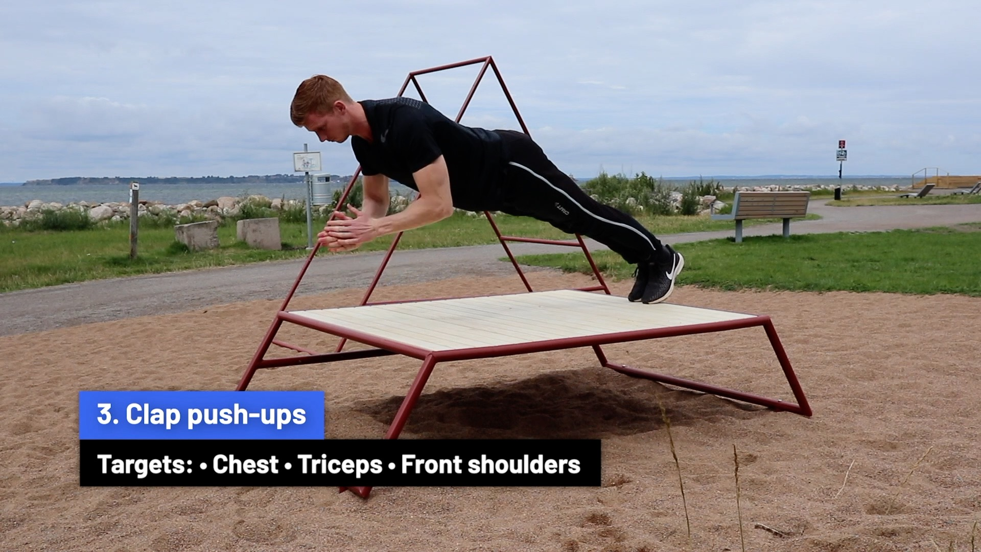 Clap push-ups
