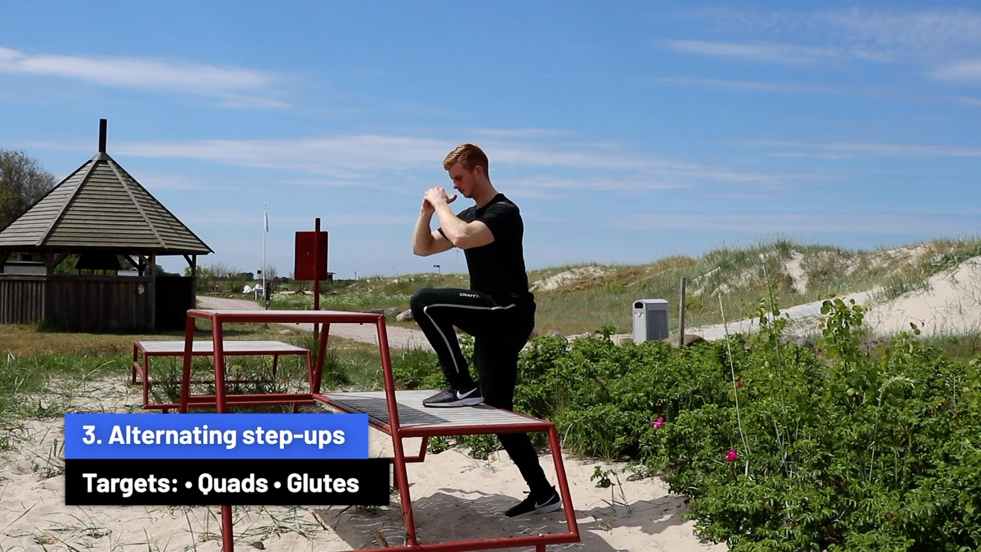 Alternating step-ups