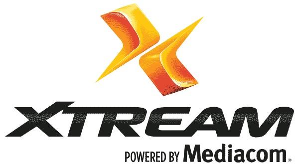 Xtream powered by mediacom logo
