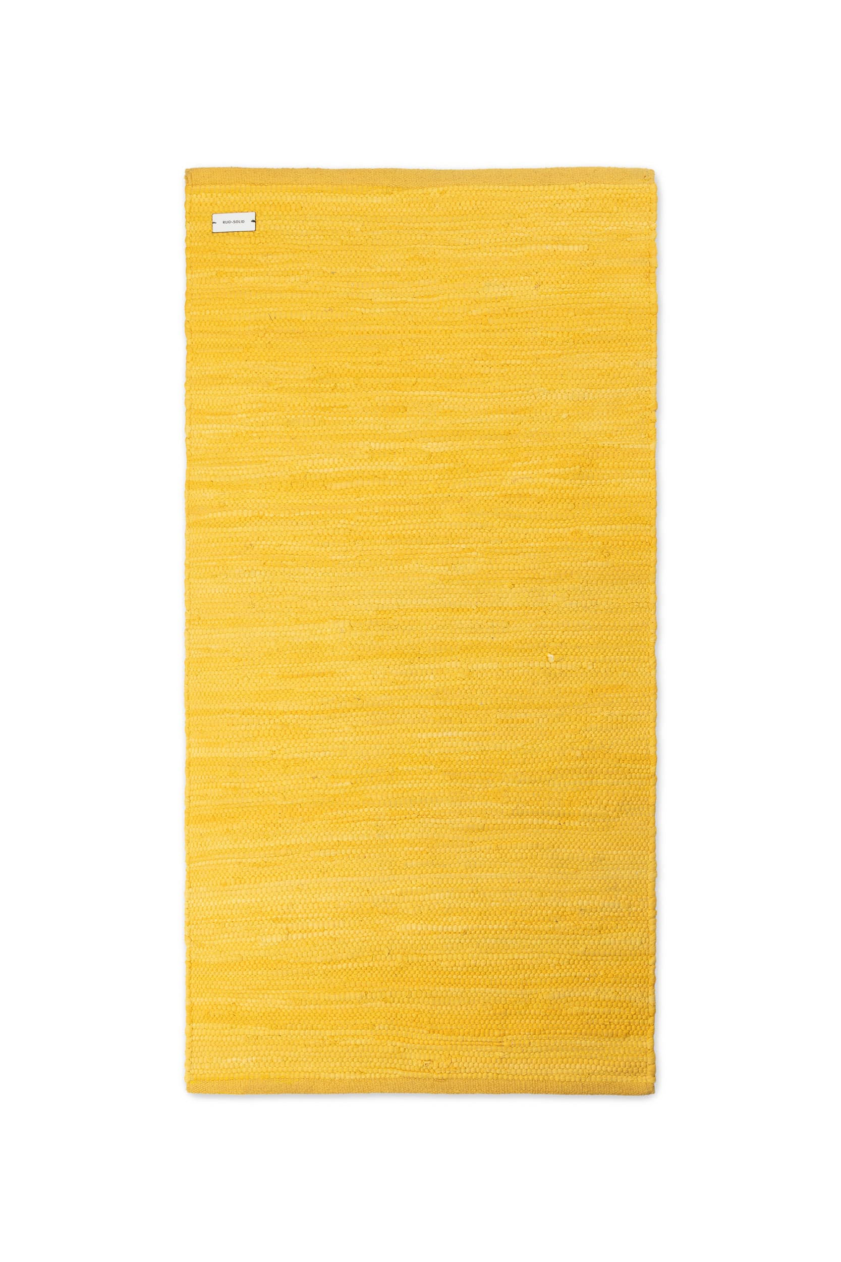 Raincoat Yellow Cotton Rug