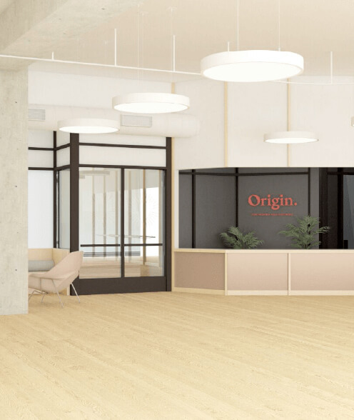 Origin office Los Angeles