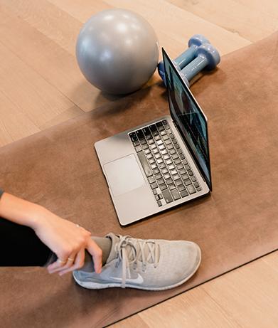 Virtual Physical Therapy setup