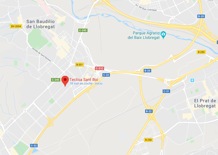 Mapa Abex Sant Boi