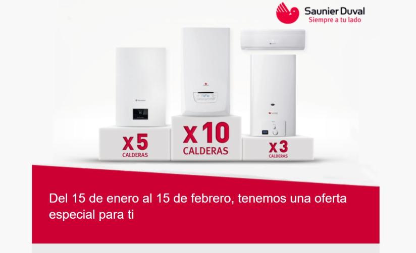 Promoción Calderas Saunier Duval