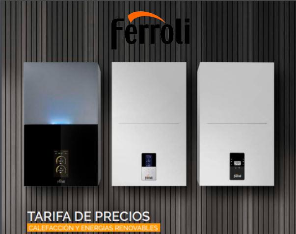 Catálogo Calefacción 2021 Ferroli