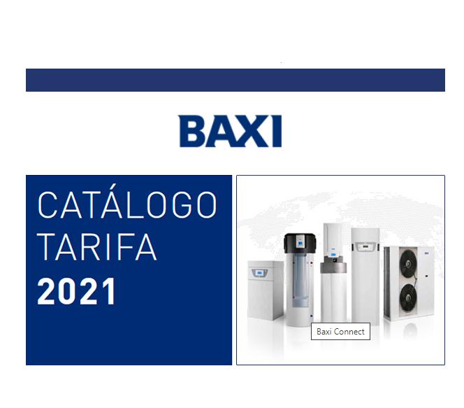 Catálogo Baxi 2021