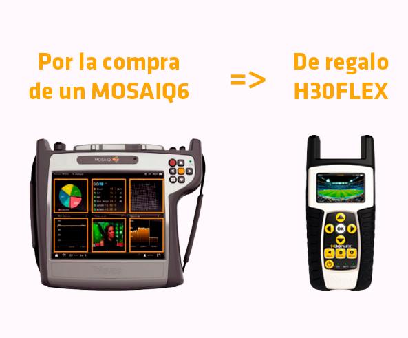 Promoción H30FLEX de regalo Televes
