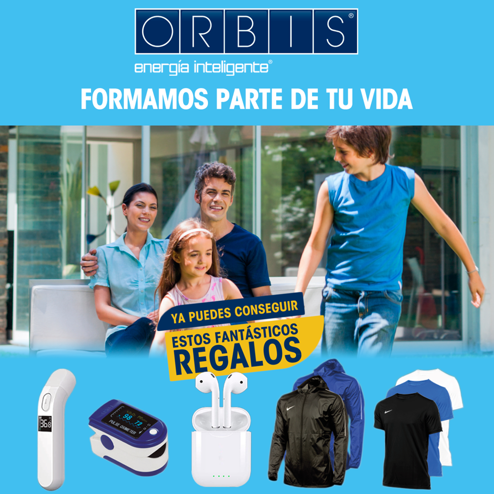 """Flyer promoción """"Formamos parte de tu vida"""" Orbis"""