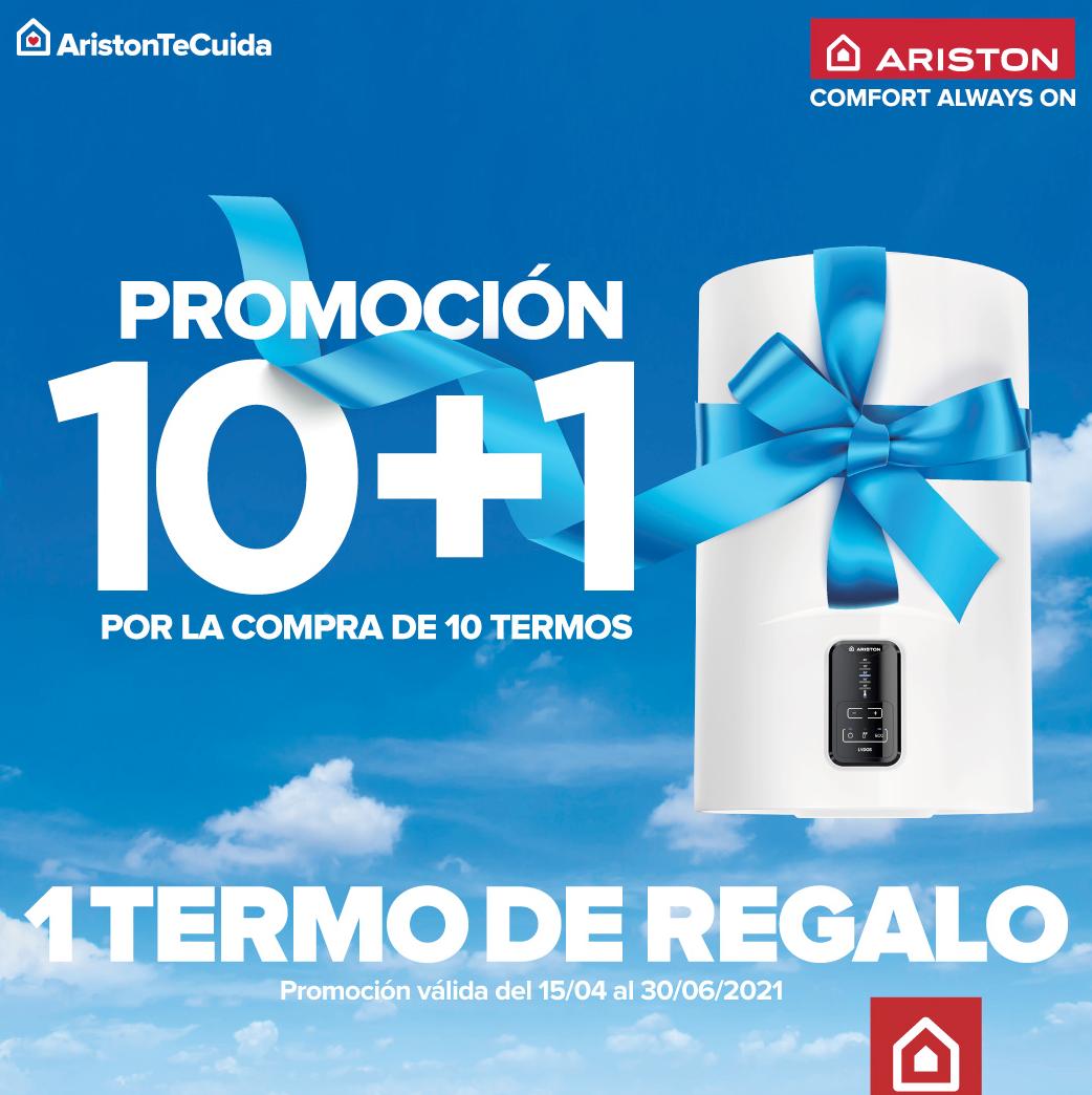 Flyer promo 10+1 Ariston