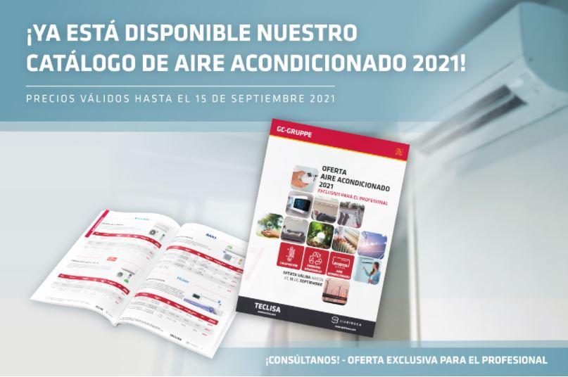 Catálogo Ofertas Aire Acondicionado Teclisa 2021