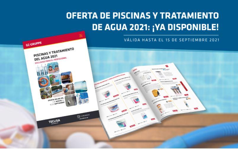 Flyer Catálogo Piscina Teclisa 2021