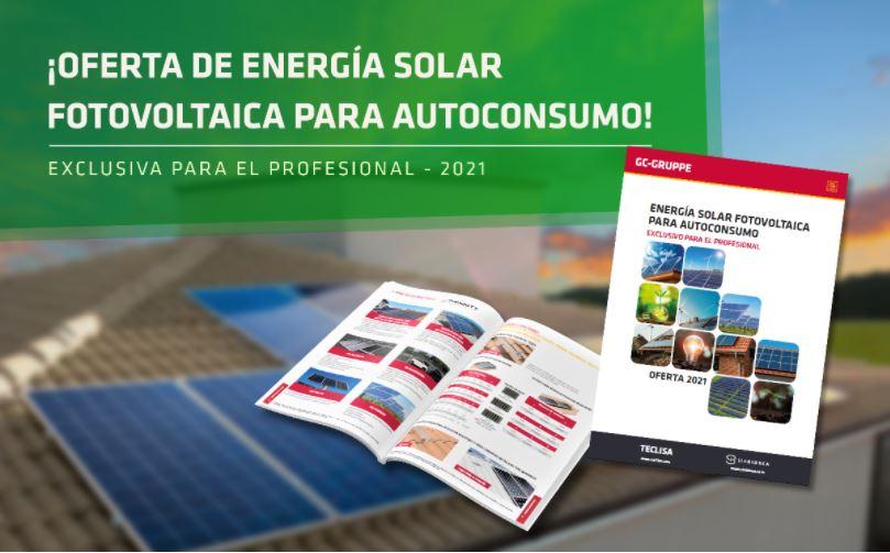 Flyer Catálogo Energía Solar Teclisa 2021