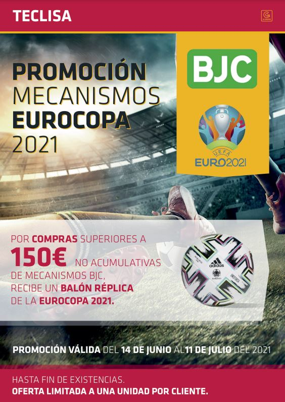Cartel Oferta Mecanismos BJC y Eurocopa 2021