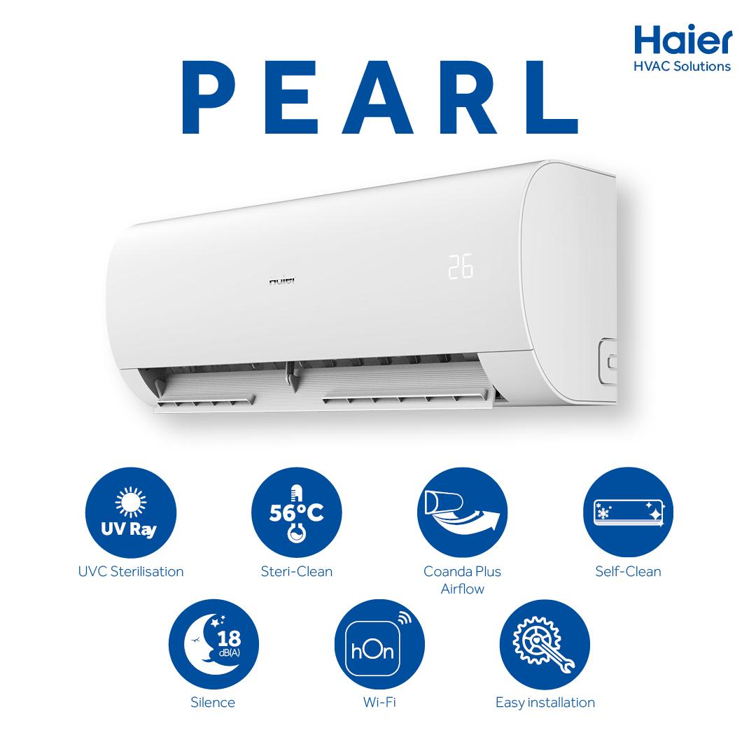Nuevo Aire Acondicionado PERLA by Haier HVAC Solutions